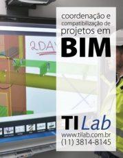 TI Lab – Curso Coordenação e Compatibilização de Projetos em BIM - 27 de fevereiro, das 9h às 12h - terças (3 vagas p/ CONFIRMAR)